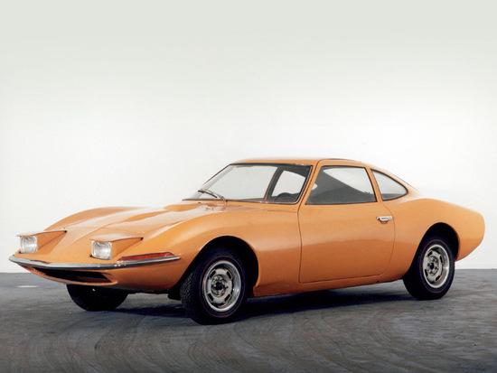 La Opel Experimental GT, prototipo del 1965