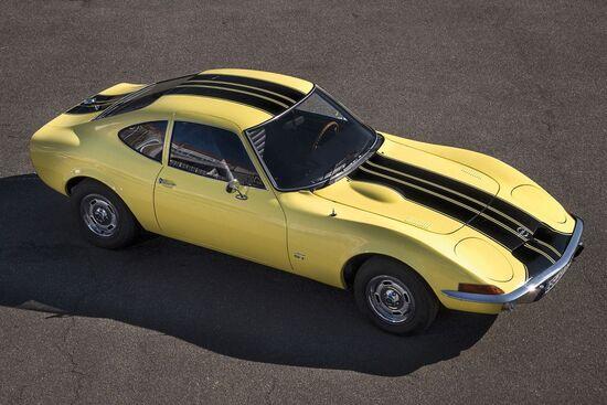 La Opel GT è stata prodotta dal 1968 al 1973