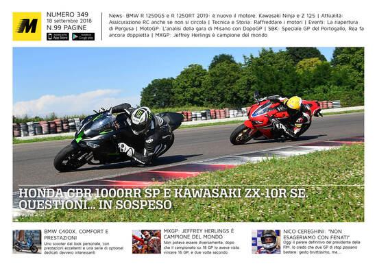 Magazine n° 349, scarica e leggi il meglio di Moto.it