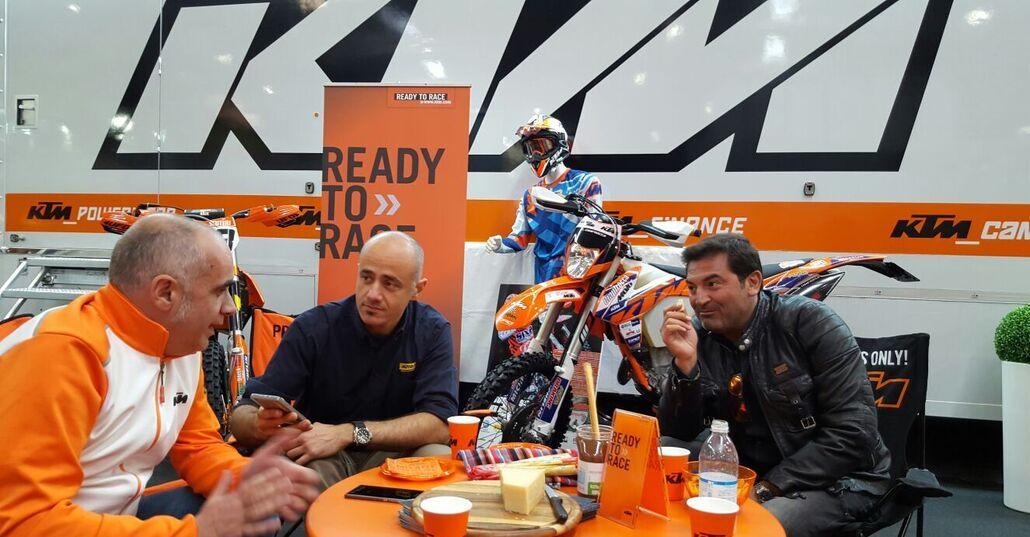"""Angelo Crippa (KTM): """"Dal 2017 basta enduro 125. Ma siamo pronti con i 250/300 a iniezione"""""""