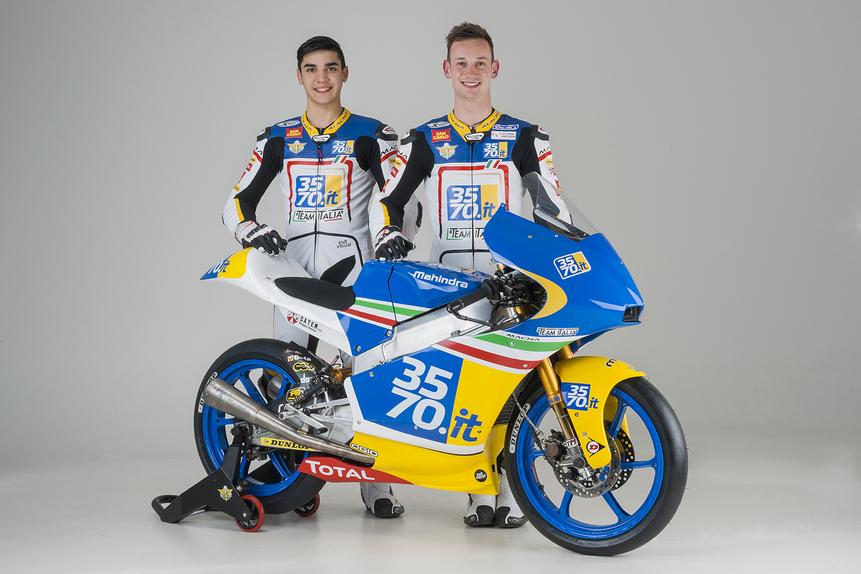 Presentato oggi il 3570 Team Italia Moto3 (2)