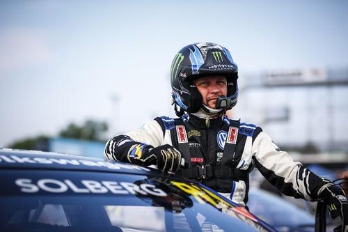 WRC: Petter Solberg al Rally di Spagna con la Volkswagen Polo GTI R5