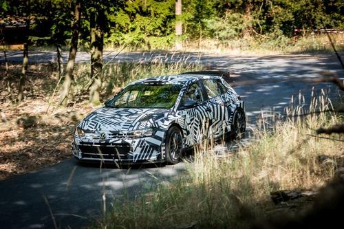 WRC: Petter Solberg al Rally di Spagna con la Volkswagen Polo GTI R5 (5)