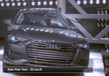 Euro NCAP: i risultati di A6, Touareg, Tourneo e Jimny