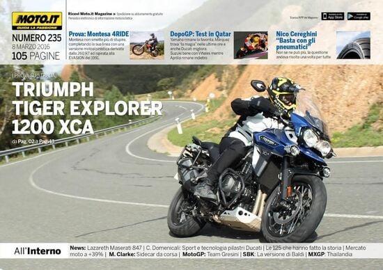Magazine n°235, scarica e leggi il meglio di Moto.it