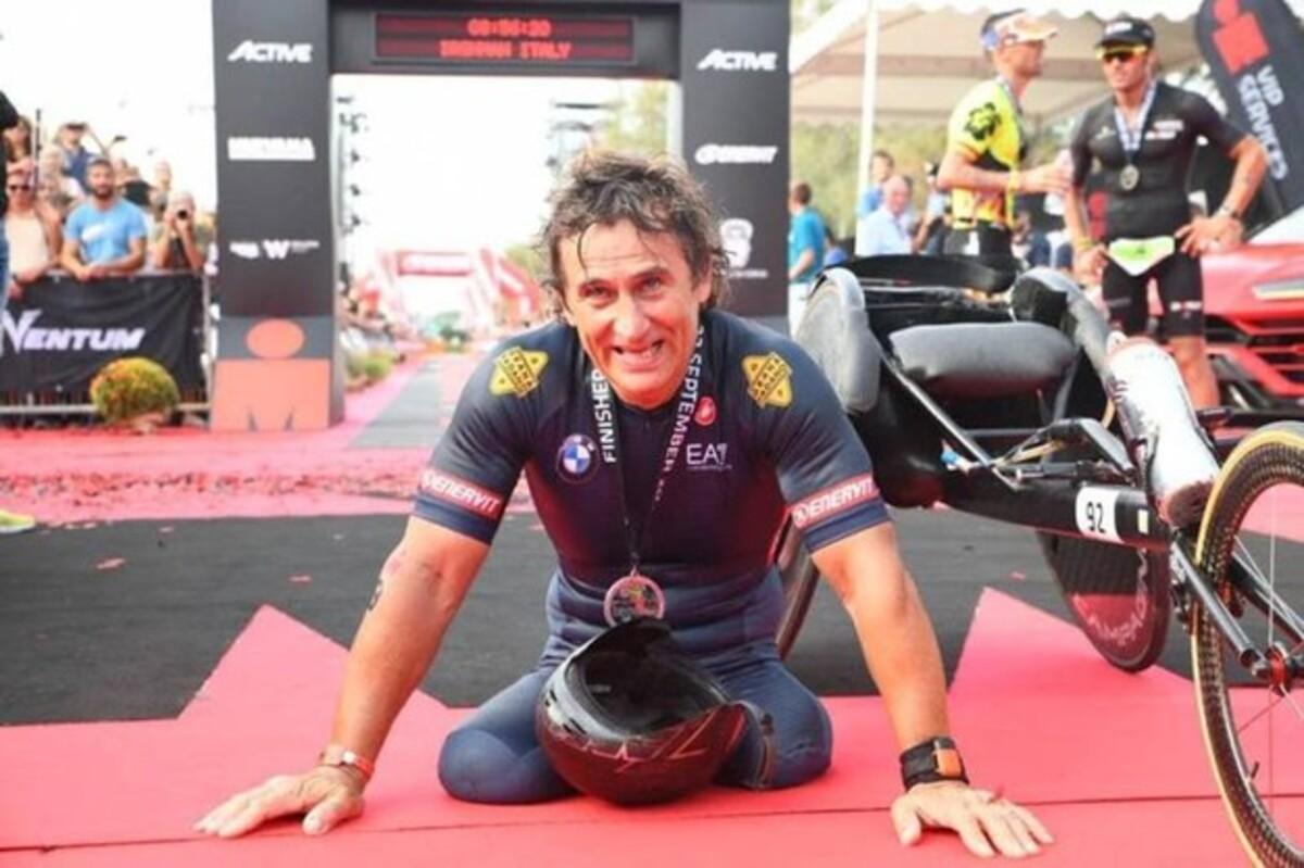 Alex Zanardi 5° assoluto all'Iron Man di Cervia e nuovo record ...