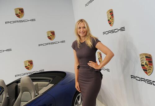 Maria Sharapova positiva al doping: sospesi i contratti, anche con Porsche (2)