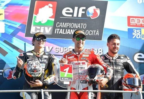 CIV 2018. Al Mugello Zannoni si laurea campione italiano Moto3 (5)