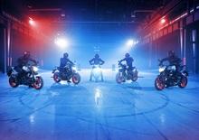 Yamaha MT-09, MT-07, MT-10, MT-125 2019: nuova colorazione Ice Fluo