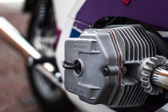 Il dettaglio del motore Krauser