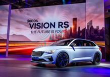 Skoda Vision RS al Salone di Parigi 2018