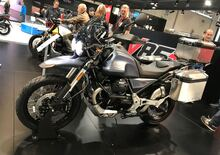 Moto Guzzi V85 TT a Intermot Colonia (VIDEO)