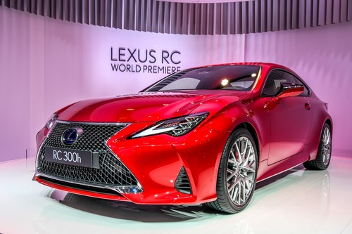 Lexus RC coupé al Salone di Parigi 2018 (2)