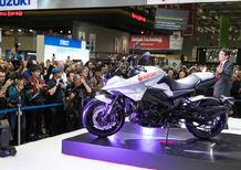 Intermot 2018: Suzuki Katana. Video, foto e dati