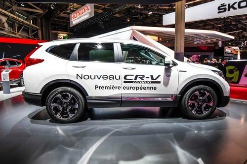 Honda CR-V Hybrid al Salone di Parigi 2018