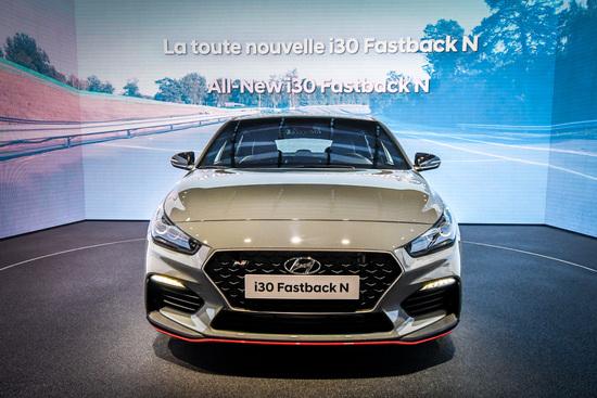 Hyundai i 30 N Fastback al Salone di Parigi 2018