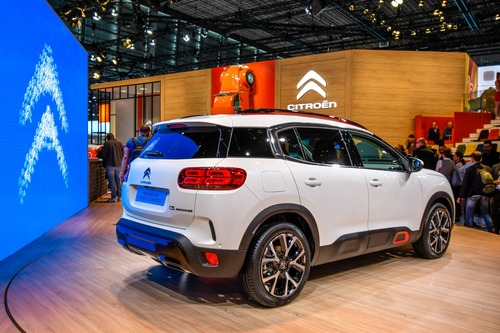 Citroën C5 Aircross 71° N Limited Edition al Salone di Parigi 2018 (2)