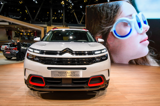 Citroën C5 Aircross 71° N Limited Edition al Salone di Parigi 2018