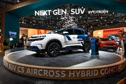 Citroen C5 Aircross Hybrid al Salone di Parigi 2018 (2)
