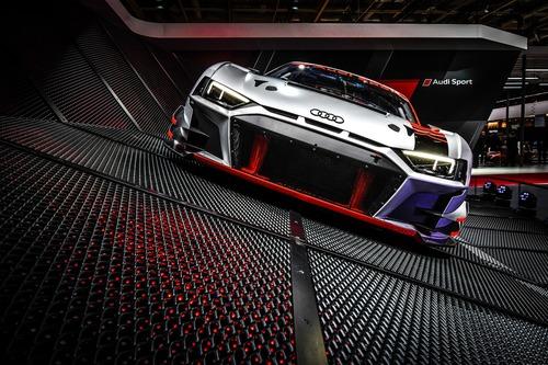Nuova Audi R8 LMS GT3 al Salone di Parigi 2018 [Video] (3)
