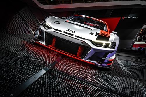 Nuova Audi R8 LMS GT3 al Salone di Parigi 2018 [Video] (6)