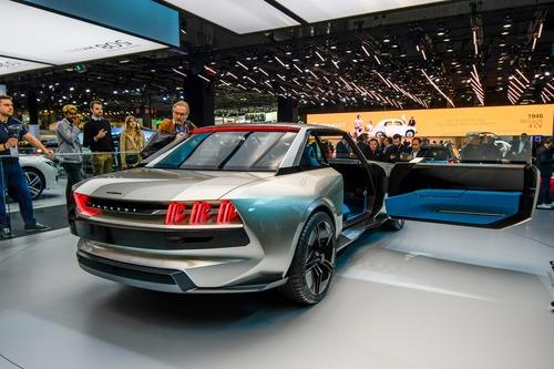 Peugeot E Legend La Concept Retro Al Salone Di Parigi Saloni