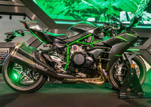 Kawasaki Ninja H2 2019: ancora più cavalli (VIDEO)