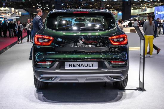 La Renault Kadjar restyling al Salone di Parigi 2018
