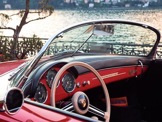Interni della 356 Speedster