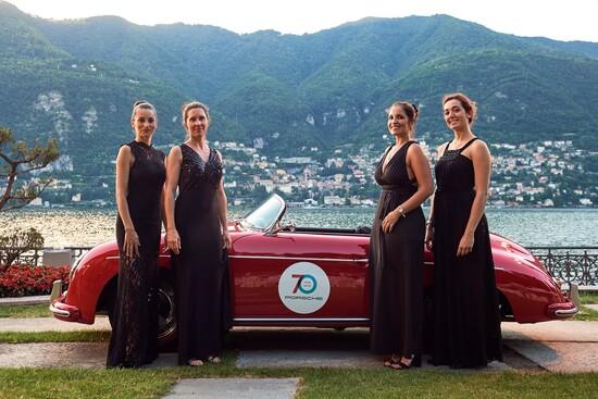 La Casa di Stoccarda festeggia i 70 anni dalla nascita, con una festa sul lago e la 356 Speedster ospite d'onore