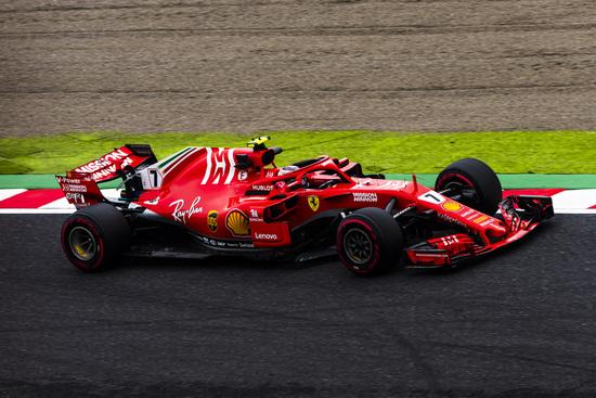 Kimi Raikkonen a Suzuka scatterà dalla quarta posizione