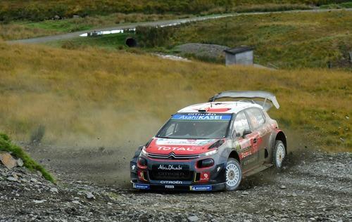WRC18 Galles. Intrattabile Ogier (Ford), e fanno 5 (3)