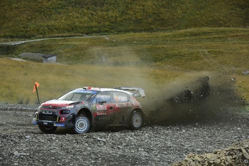 WRC18 Galles. Intrattabile Ogier (Ford), e fanno 5 (7)