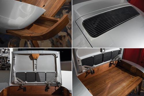 Porsche 911, un cofano che diventa scrivania (3)