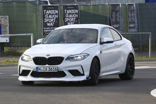 BMW M2 CS, ancora più cavalli per la M2? [Foto spia] (6)