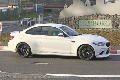 BMW M2 CS, ancora più cavalli per la M2? [Foto spia] (8)