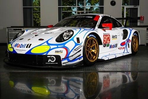 Porsche, livrea in onore della 911 GT1 vincitrice della 24h a Le Mans nel 1998