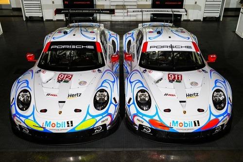 Porsche, livrea in onore della 911 GT1 vincitrice della 24h a Le Mans nel 1998 (4)
