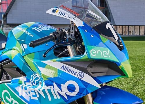 Presentato il Team Trentino Gresini MotoE (4)