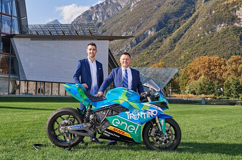 Presentato il Team Trentino Gresini MotoE