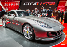 Il video della Ferrari GTC4Lusso al Salone di Ginevra 2016