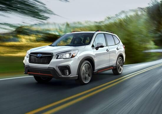 Subaru: ecco le novità per i model year 2019