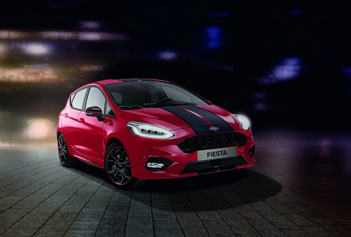 Ford Fiesta Red e Black Edition, due livree sportive per la ST-Line (2)