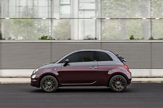 La nuova Fiat 500 Collezione per la stagione autunnale