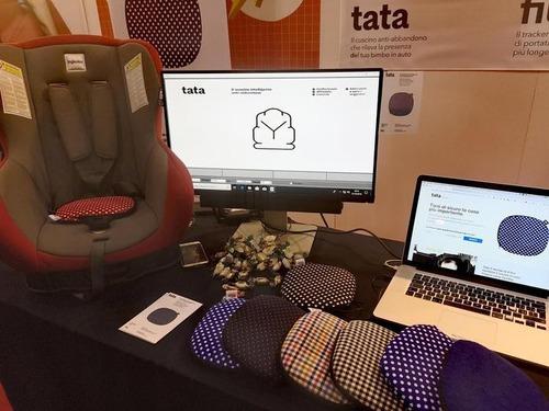 Filo Tata, e il seggiolino diventa antiabbandono con il cuscino smart (2)