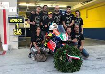 FullMoto Squadra Corse: Alessandro Morosi vince il titolo Premoto3 250 4t ELF CIV
