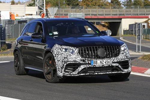 Mercedes-AMG GLC 63, restyling in arrivo (4)
