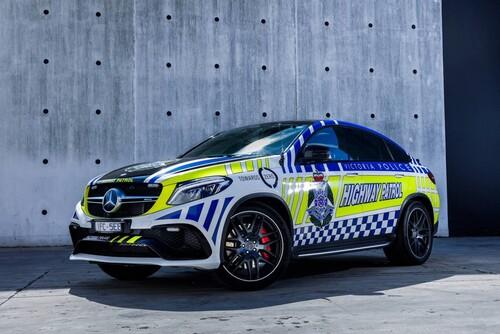 Mercedes-AMG GLE 63 S coupé al servizio della polizia australiana