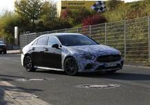 Mercedes-AMG A 35, ecco la berlina [Foto spia]
