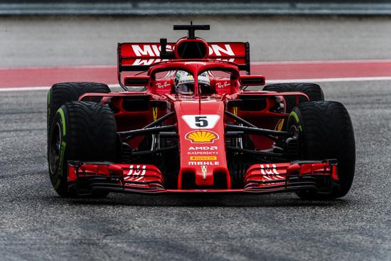 Quarto posto per Sebastian Vettel ad Austin
